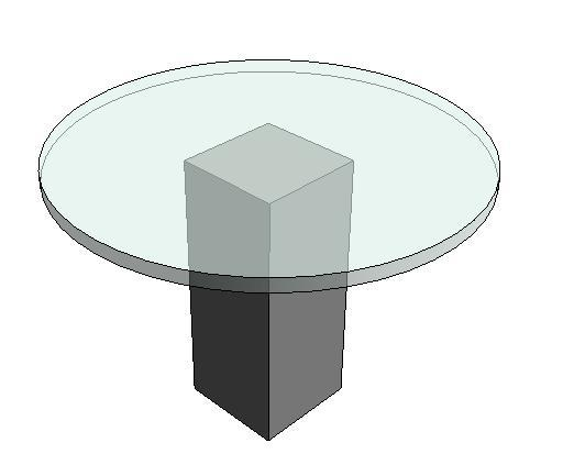 круглый стол/coffeee столом/стеклянный стол cj-288